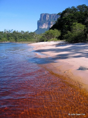 Red river, Canaima