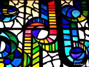 Stained glass window, Caracas, Venezuela